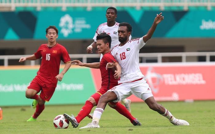 U23 Việt Nam từng có trận đấu xuất sắc trước U23 UAE ở ASIAD 2018.