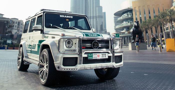 siêu xe cảnh sát UAE