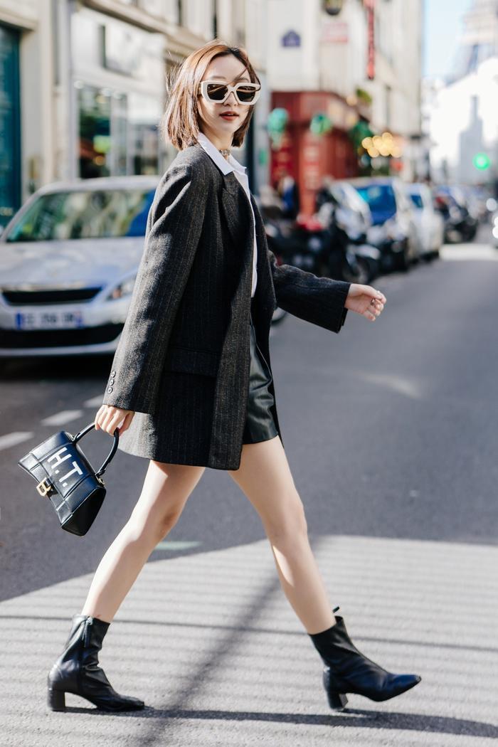 Mang loạt túi hiệu nghìn đô, á hậu Hà Thu chiếm sóng tại đường phố Paris ảnh 1