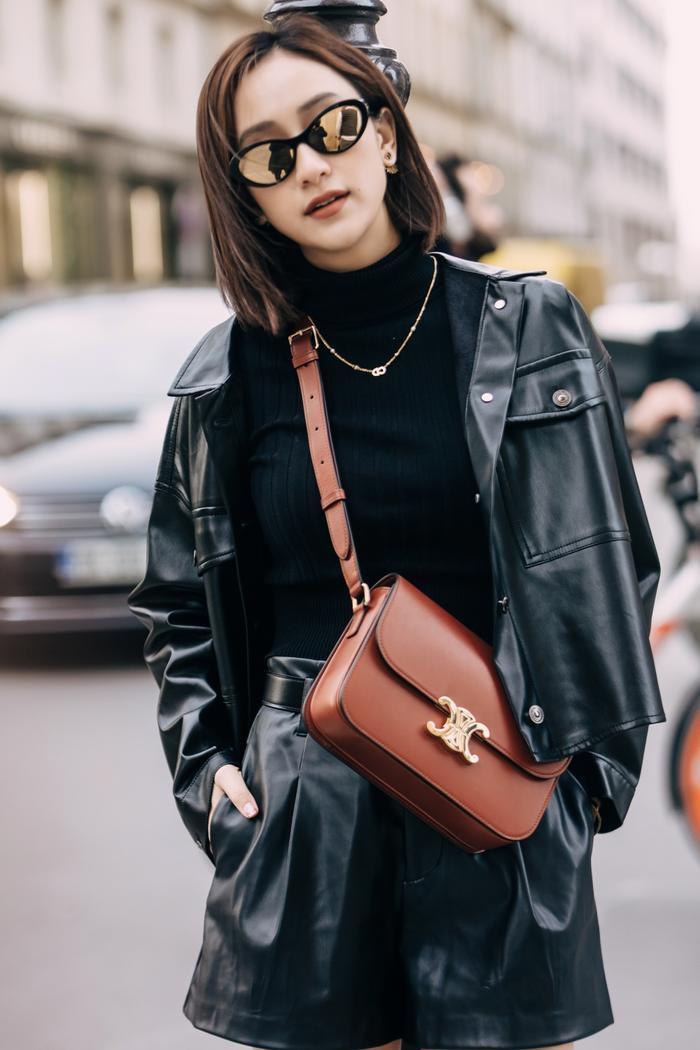 Mang loạt túi hiệu nghìn đô, á hậu Hà Thu chiếm sóng tại đường phố Paris ảnh 11