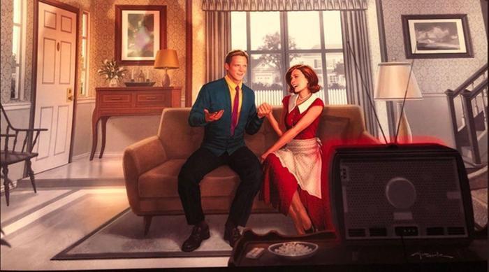 WandaVision mang phong cách sitcom hài hước.