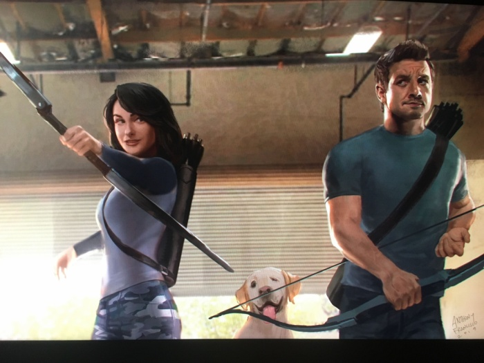 Chú chó Lucky xuất hiện trong series.