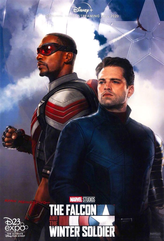 Tạo hình chính thức của The Falcon and the Winter Soldier.