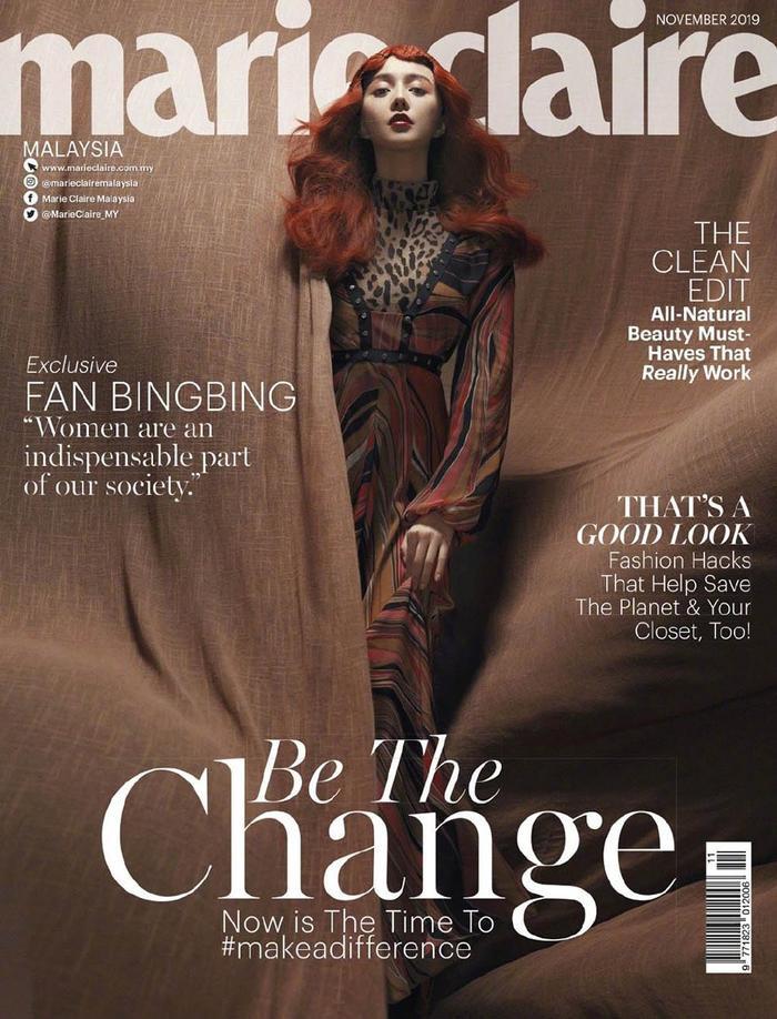 Và Marie Claire của Malaysia.