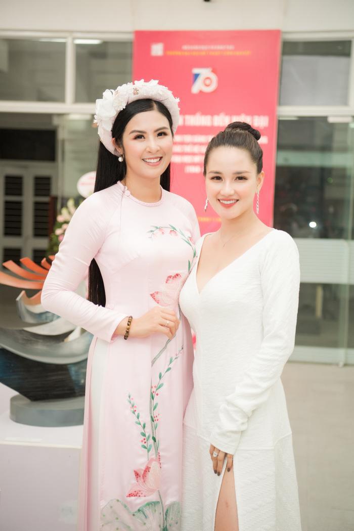 Huyền Châu và Ngọc Hân hiện đều là những người đẹp thành đạt