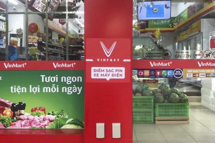 Vingroup đã xây dựng hơn 200 trạm sạc xe điện trên phạm vi toàn quốc.