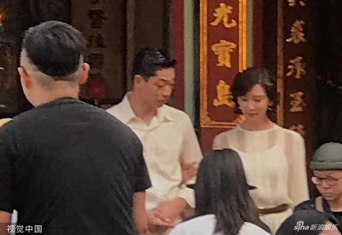 Lâm Chí Linh diện váy cưới xinh đẹp, ngọt ngào khoác tay ông xã tập dợt hôn lễ ảnh 8