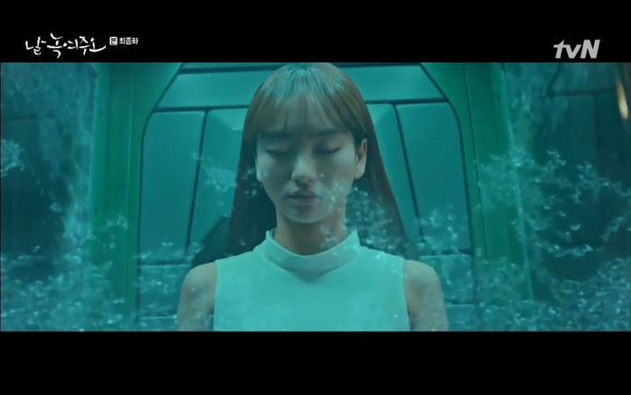 'Melting Me Softly' tập cuối: Won Jin Ah bị đông lạnh mãi mãi vì đỡ thay Ji Chang Wook một nhát dao?