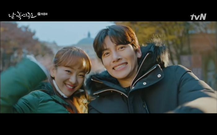 """""""Thế là người đông lạnh Ma Dong Chan và Go Mi Ran sống hạnh phúc với nhau mãi về sau…"""""""
