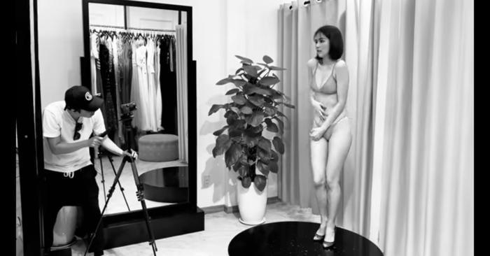 Thường xuyên chụp ảnh nội y nhưng Ngọc Trinh là một trong những chân dài luôn biết cách thay đổi, tránh nhàm chán cho khán giả.