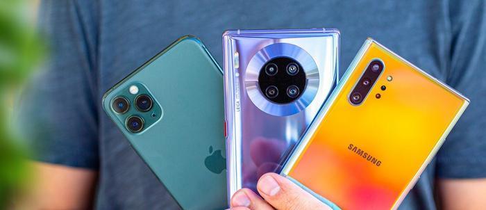 Huawei, Samsung và Apple đang là các nhà sản xuất smartphone lớn nhất thế giới. (Ảnh: GSMArena)