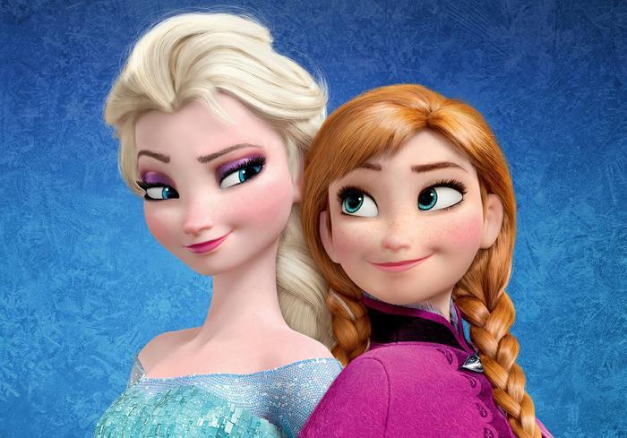 Elsa và Anna là sự hòa trộn giữa Kai, Gerda và cả Bà chúa Tuyết.