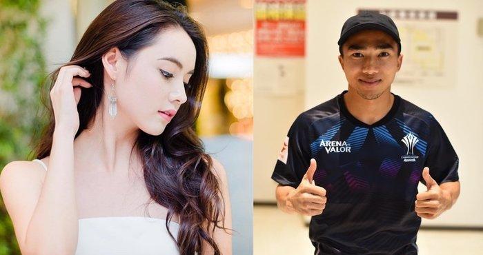 Chanathip được đánh giá như ngôi sao sáng nhất tuyển Thái Lan. Tiền vệ này mới đây bị đồn có quan hệ tình cảm với cô nàng Mookda Narinrak.