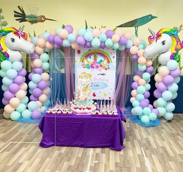 Không gian bữa tiệc sinh nhật ngập tràn màu sắc do Marian Rivera tổ chức cho con gái