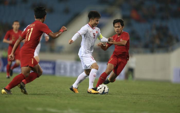 Theo bản tin thể thao hôm nay, Quang Hải đã chính thức nói lời chia tay SEA Games 30 vì chấn thương gặp phải ở trận gặp Singapore.