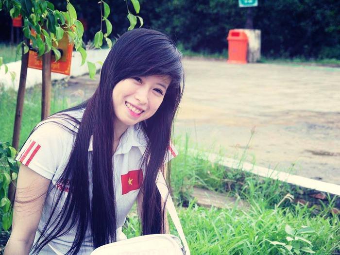Châu Tuyết Vân được biết đến là cô gái vàng của thể thao Việt Nam môn Taekwondo.
