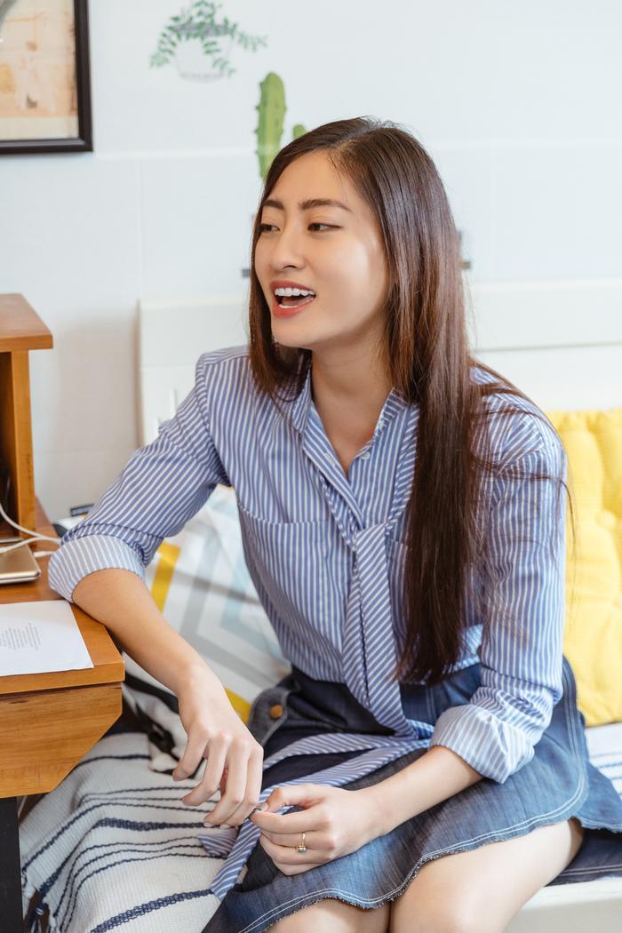 Lương Thùy Linh ghi điểm với váy hồng công chúa, hát hit A Million Dreams phần thi Tài năng  Miss World 2019 ảnh 2