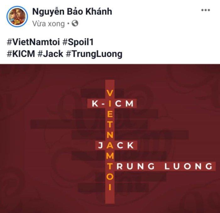 Spoil cho MV Việt Nam Tôi.