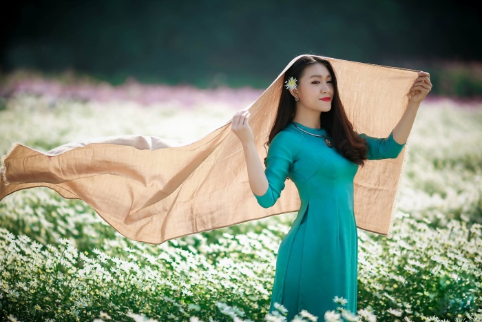 Thung lũng cúc họa mi đã trở thành một địa chỉ không thể thiếu trên bản đồ check – in Hà Nội của nam thanh, nữ tú Hà Thành.