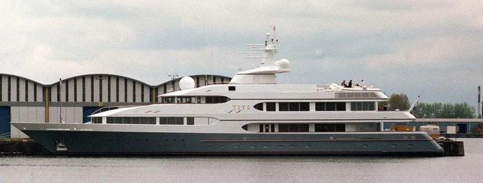 Một trong những chiếc du thuyền thuộc sở hữu của tiền đạo của đội trưởng U22 Brunei.(Ảnh:Getty - Contributor)