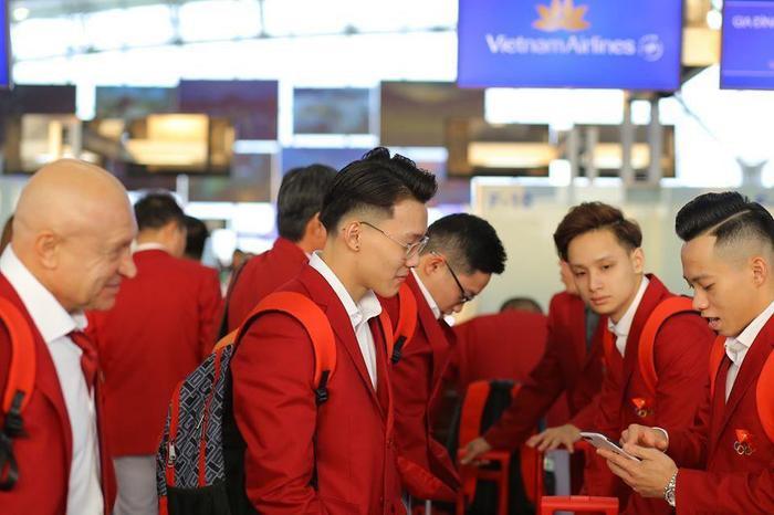 Đoàn TTVN có 568 VĐV tranh tài ở 43/56 môn thi đấu tại Đại hội Thể thaoSEA Games 30.(Ảnh: Vietnamnet)