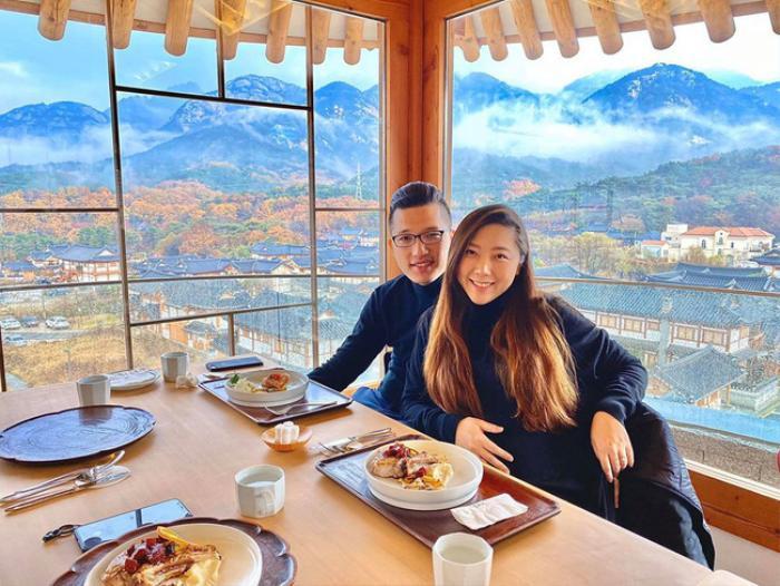 Những nơi cặp đôi đặt chân đến toàn là địa danh nổi tiếng như Maldives, Hàn Quốc,…