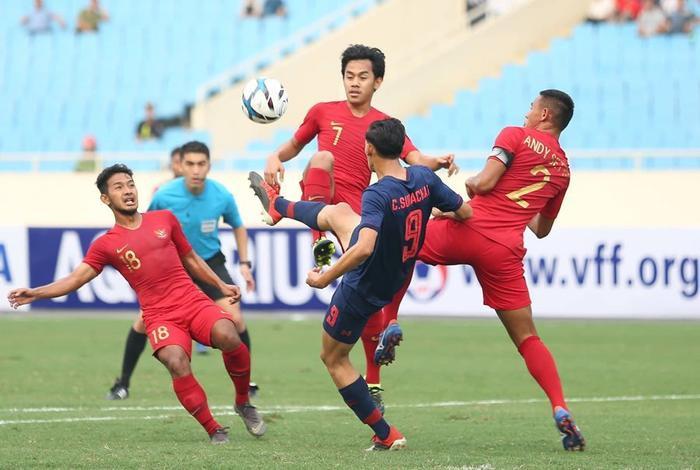 Đánh bại U22 Thái Lan, U22 Indonesia tràn trề cơ hội lọt vào vòng sau.