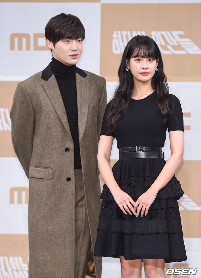 Họp báo Love With Flaws: Ahn Jae Hyun đẹp đôi bên Oh Yeon Seo, xin lỗi về vụ ly hôn với Goo Hye Sun ảnh 5