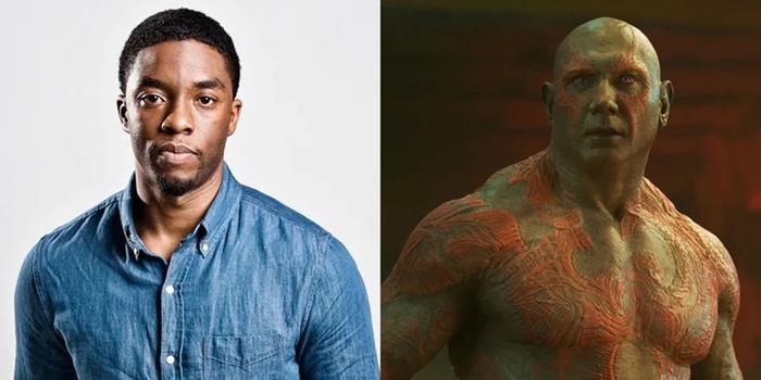 """""""Báo đen"""" Chadwick Boseman sẽ thế nào nếu trở thành Drax?"""