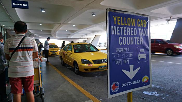 Lựa chọn khác khi di chuyển đến các sân đấu để xem đội tuyển Việt Nam thi đấu trong khuôn khổ SEA Games30 tạiPhilippines là sử dụng taxi. (Ảnh: Psychotraveller)