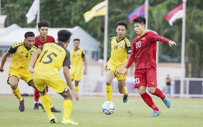 Đài truyền hình SBS vừa đưa ra thông báo sẽ phát sóng các trận đấu của U22 Việt Nam tại SEA Games 30 đang diễn ra ở Philippines. (Ảnh: VFF)