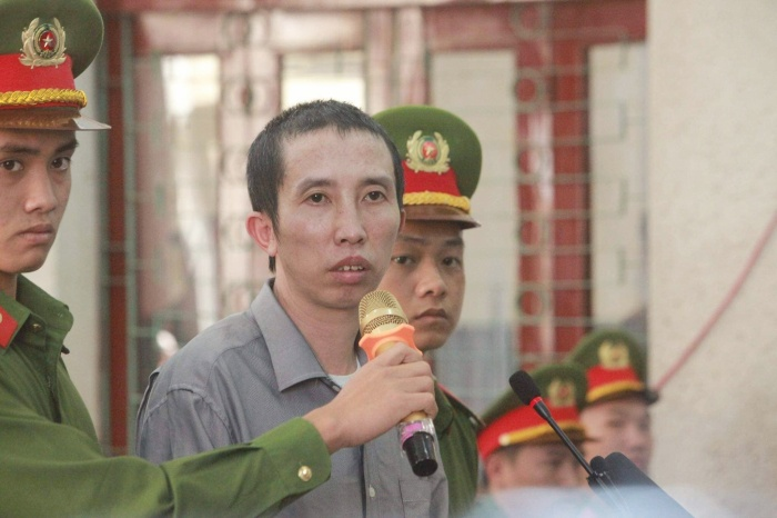Bị cáo Bùi Văn Công.