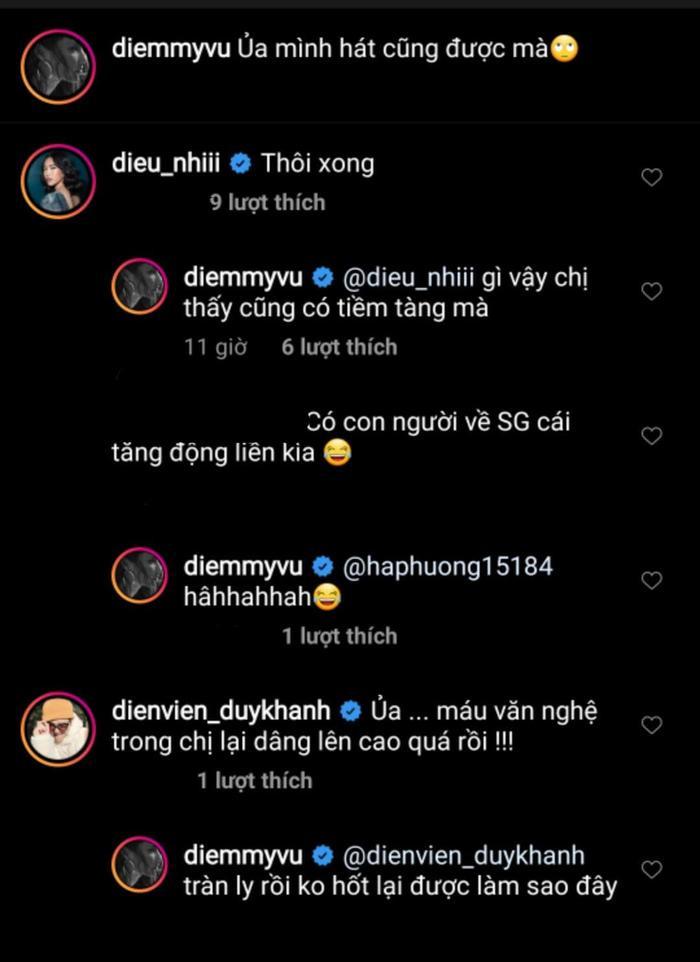 Diệu Nhi và Duy Khánh Zhou Zhou bàn tán về giọng hát của Diễm My 9x.