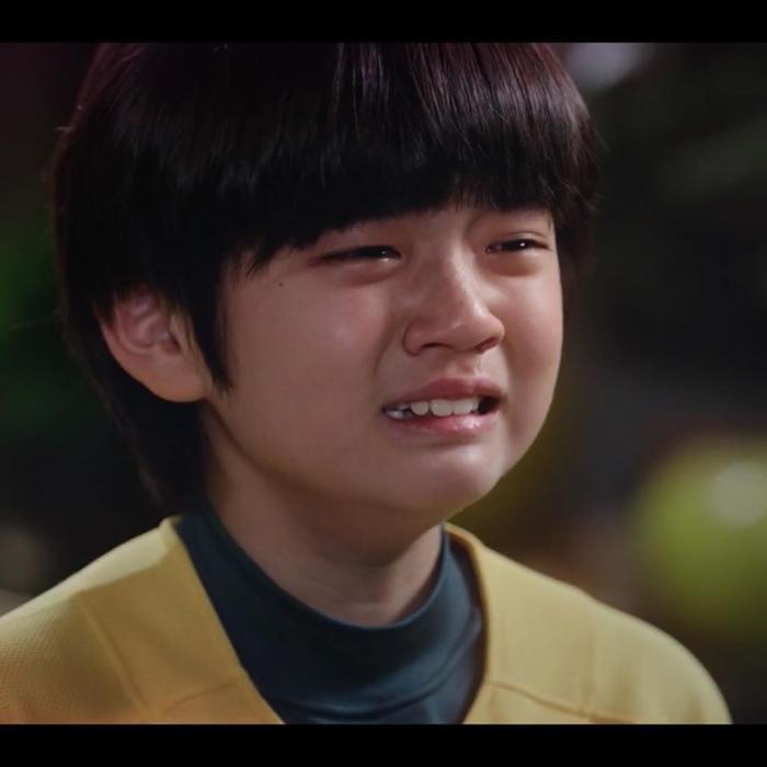 Con trai 10 tuổi của Gong Hyo Jin là fan Kang Daniel từ Produce 101, thú nhận có người yêu giống Irene (Red Velvet) ảnh 2
