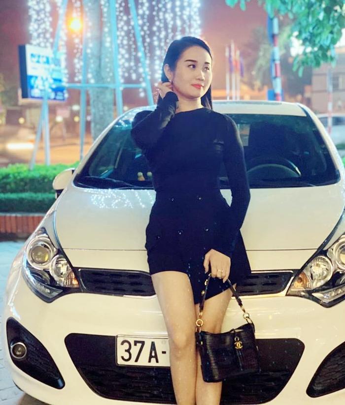Bạn gái Tiến Linh, Ngọc Quyên bất ngờ tự chúc bản thân sớm có chồng sau khi rộ tin chia tay Tiến Linh. Ảnh: FBNV