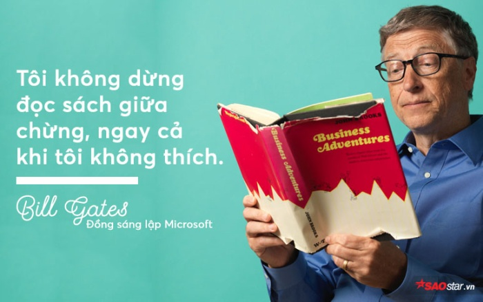 Bill Gates tiết lộ bí kíp đọc nhiều nhưng vẫn nhớ được lâu