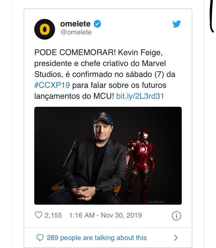 Kevin Feige sẽ tiết lộ nhiều hơn về tương lai của MCU tại CCXP!