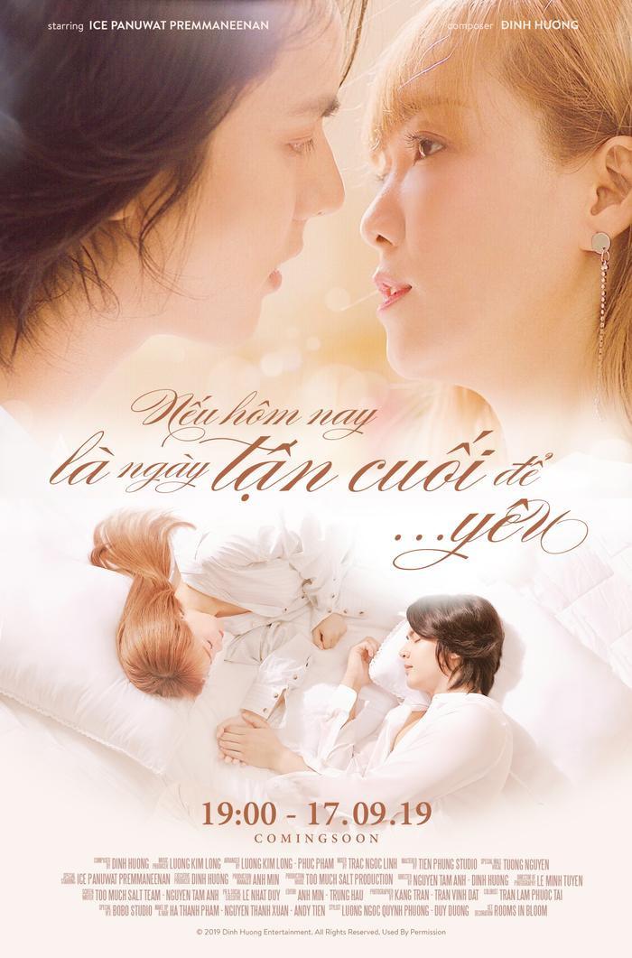 Poster MV trông như phim điện ảnh, hé lộ một câu chuyện tưởng chừng như drama đẫm nước mắt.