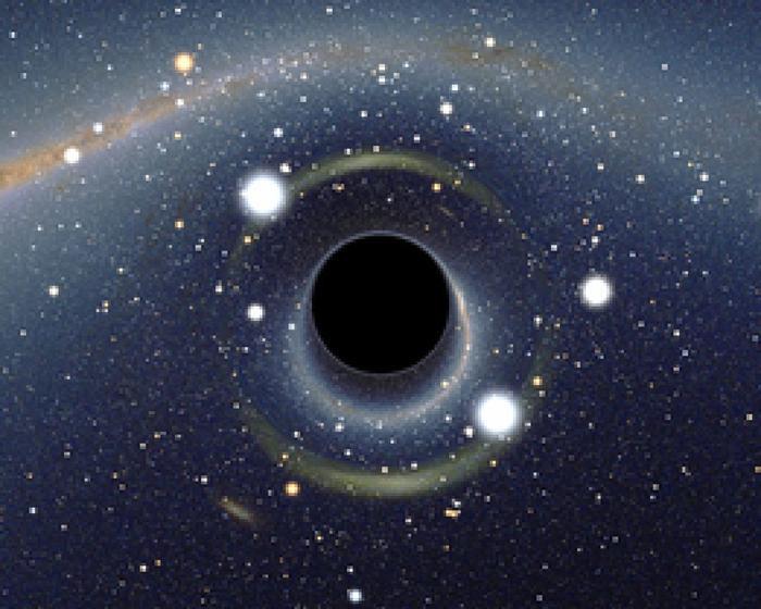 Các nhà khoa học vẫn đang tìm cách giải thích cho nguồn gốc của hố đen này.