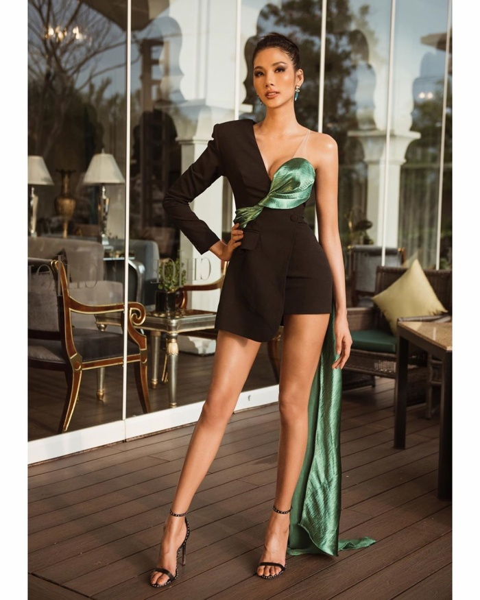Các thiết kế cảm hứng tử veston, blazer - những trang phục menswear thường xuyên được đại diện Việt trưng dụng.