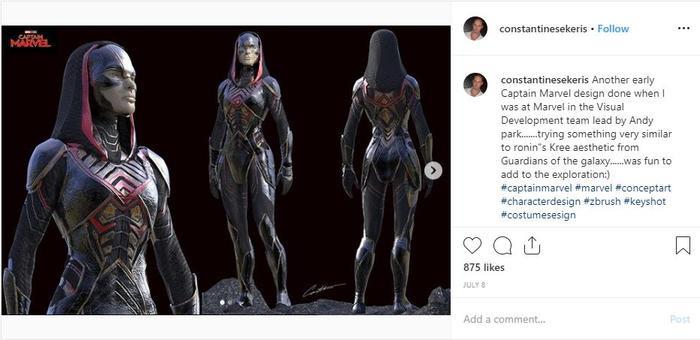 Captain Marvel sở hữu bộ giáp giống Ronan? ảnh 4