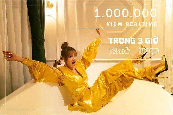 MV của Lan Ngọc cán mốc triệu view sau thời gian ngắn lên sóng.