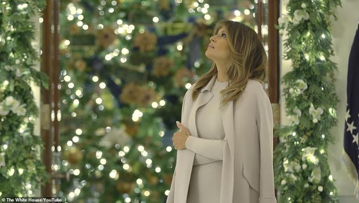 Nhà Trắng đẹp lung linh dưới bàn tay bà Melania Trump mùa Giáng sinh - Ảnh 16.