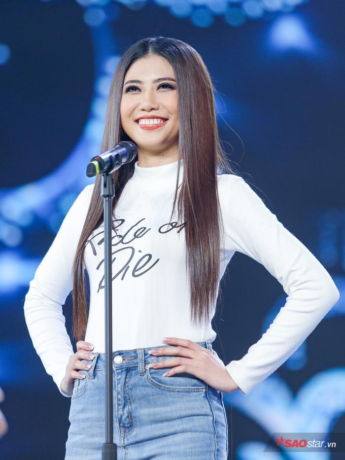 Top 45 Miss Universe Vietnam 2019 đẹp rạng rỡ, hô tên tỉnh nhà vang dội sân khấu Bán kết ảnh 12