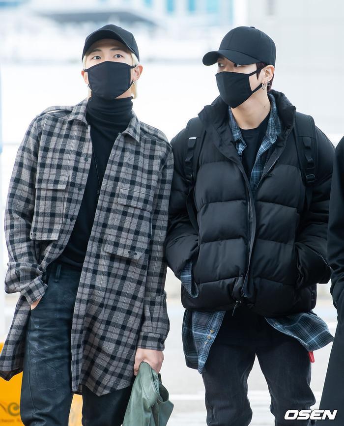 RM và Jungkook.