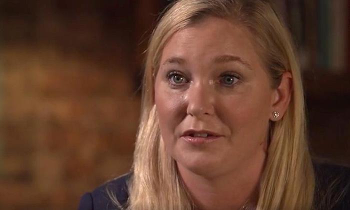 Virginia Giuffre trong cuộc phỏng vấn hôm 2/12. Ảnh: BBC Panaroma
