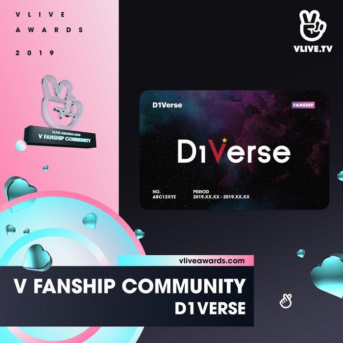 Mặc dù là tân binh mới debut không lâu, nhưng D1VERSE đã có một cộng đồng người hâm mộ rất nhiệt tình.