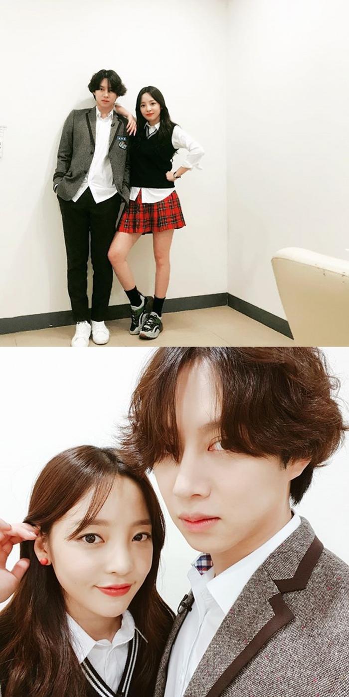 Kim Heechul lần đầu xuất hiện sau khi Goo Hara qua đời, tái hợp với Hàn Canh tại Cosmo 2019 ảnh 2