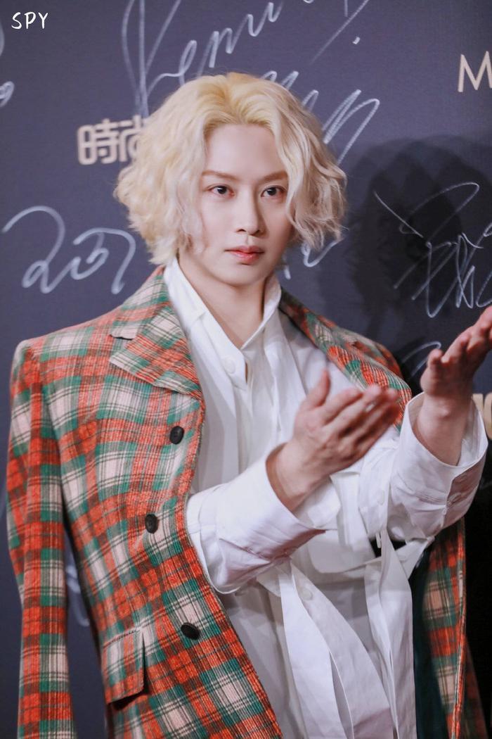 Kim Heechul lần đầu xuất hiện sau khi Goo Hara qua đời, tái hợp với Hàn Canh tại Cosmo 2019 ảnh 3