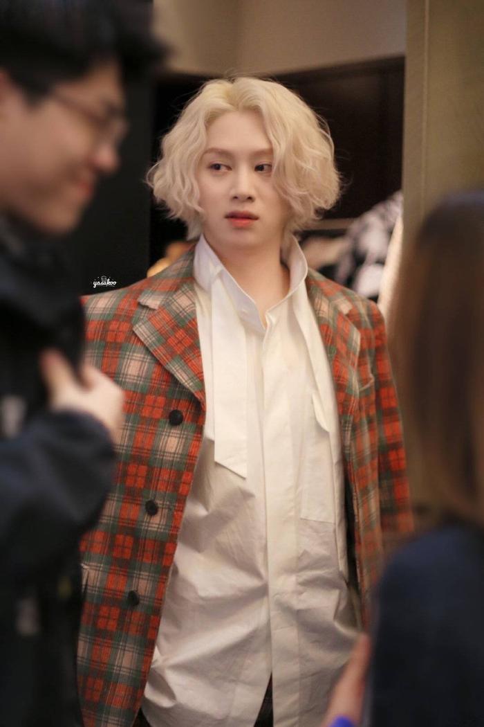 Kim Heechul lần đầu xuất hiện sau khi Goo Hara qua đời, tái hợp với Hàn Canh tại Cosmo 2019 ảnh 4
